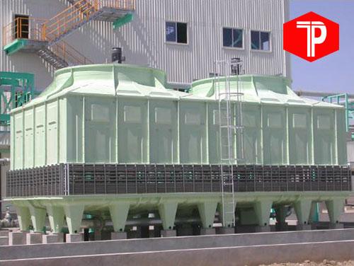 Tháp Giải Nhiệt Vuông TASHIN TSB 600 RT* 2Cell Phân Phối Chính Hãng Công Ty Trường Phát VINA